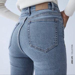 Zara Vintage High Waist Jeans NWT